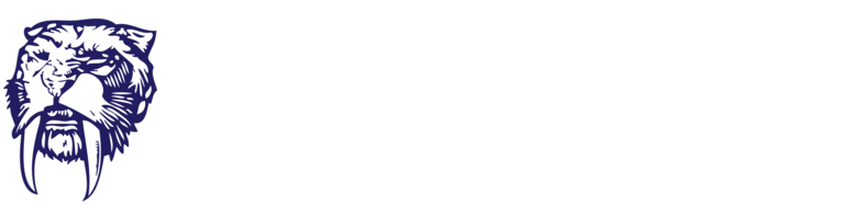 SabeRex Logo: Horizontal - White